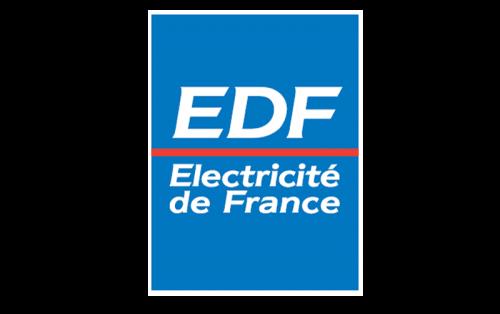 EDF (Électricité de France) Logo 1987