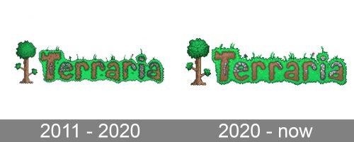 Terraria Logo history