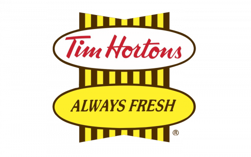 Tim Hortons Logo 1990