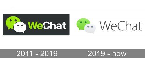WeChat Logo history