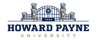 Howard Payne University unveils new logo and related graphics