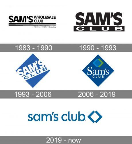 Sam's Club Logo history