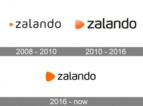 Zalando Logo history