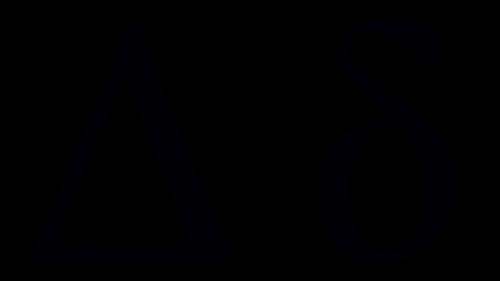 delta greek symbol