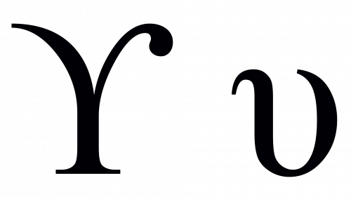 upsilon greek symbol